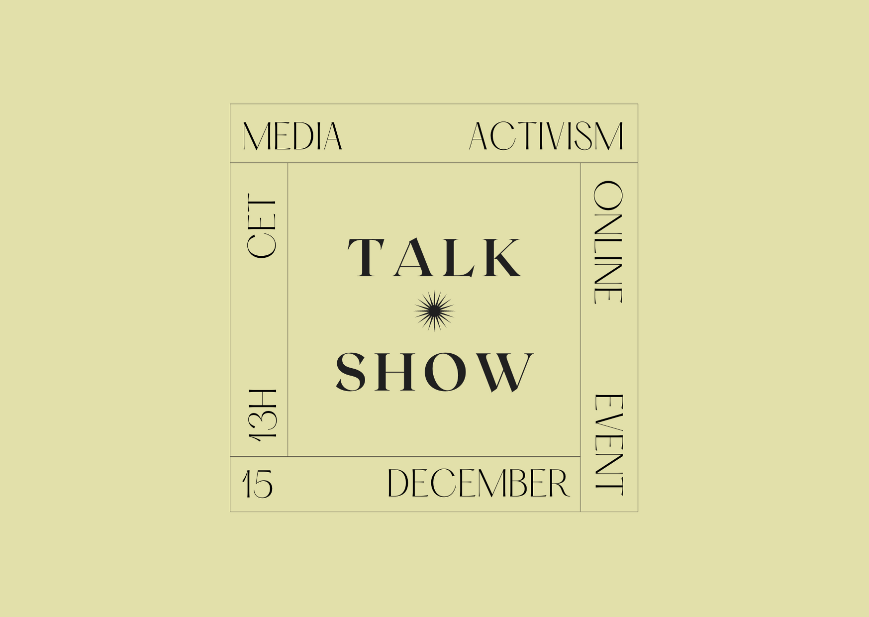 Media narratives for the right to the post-covid city: MediActivism Talk Show